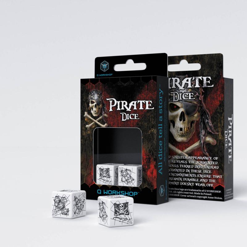 Caja de Dados piratas