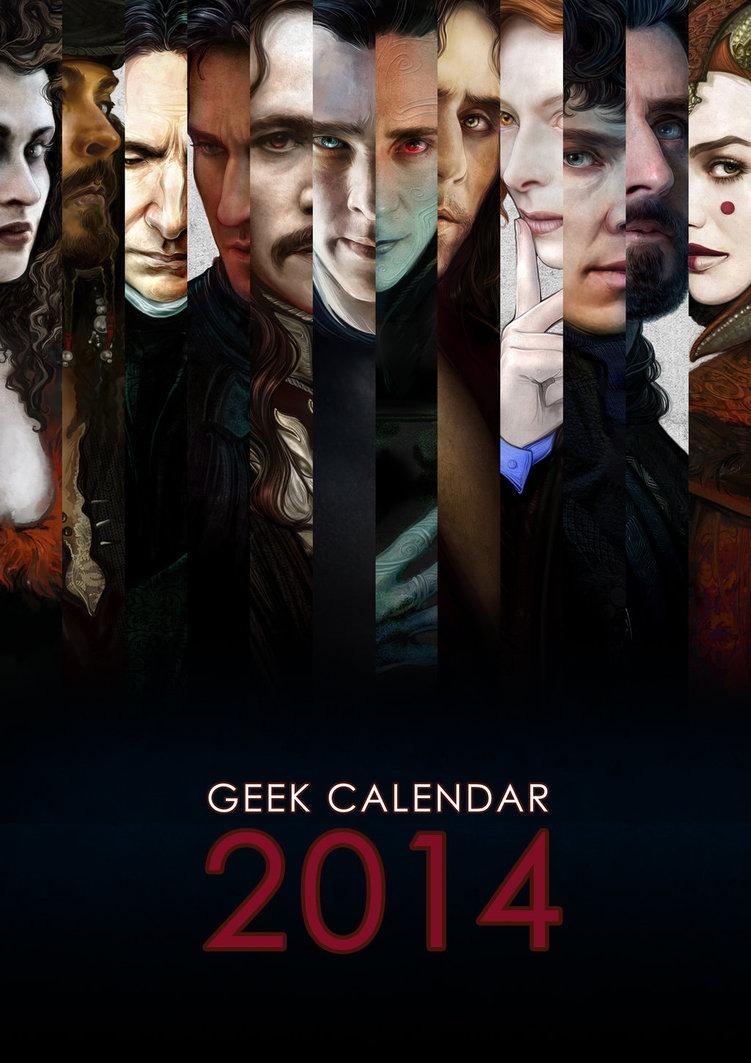 El calendario que todo buen friki debe tener.