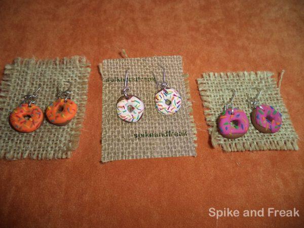 Pendientes de Donuts