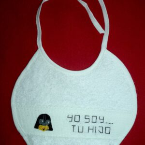 Babero Darth Baby