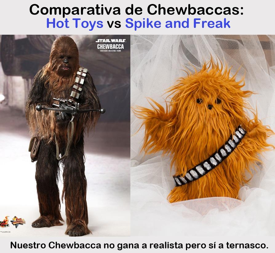 ¡Viva la suavidad de nuestro Chewbacca!