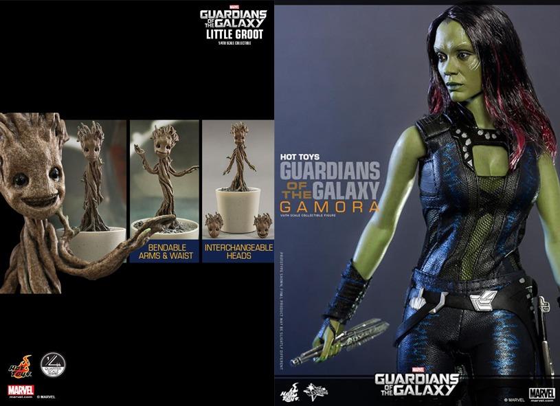 Gamora y Groot