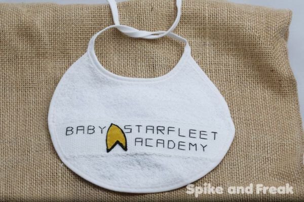 babero star trek blanco