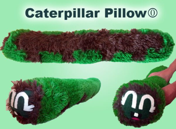 Caterpillar Pillow