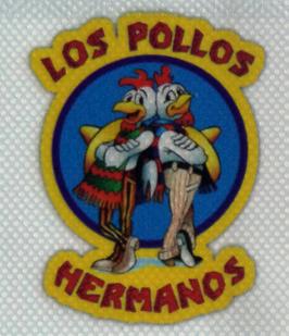 Pegatinas de vinilo transparente Los Pollos Hermanos