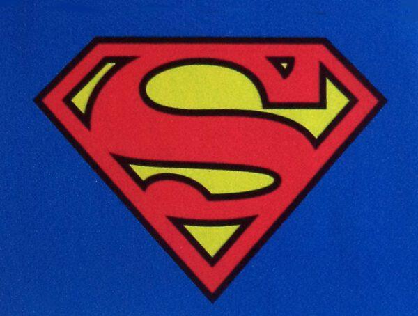 Pegatina de vinilo Superman