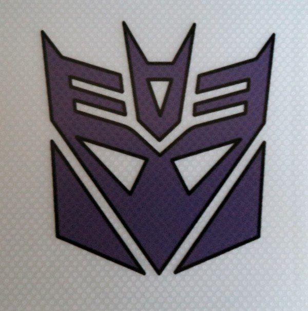 Pegatina de vinilo transparente Transformers