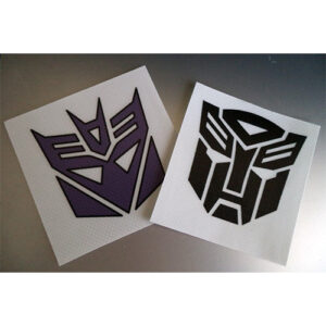 transformers pegatinas