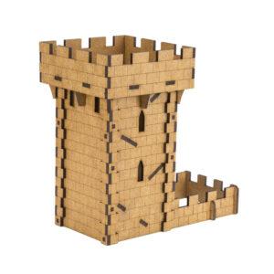 Torre de dados Medieval parte trasera