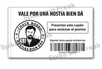 Cheques Chuck Norris