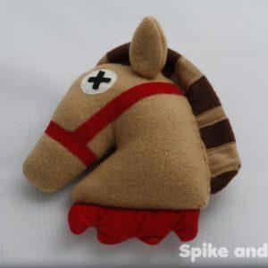 sonajero cabeza de caballo el padrino