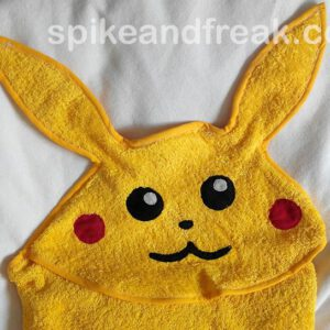 Pikachu Hooded Baby Towel