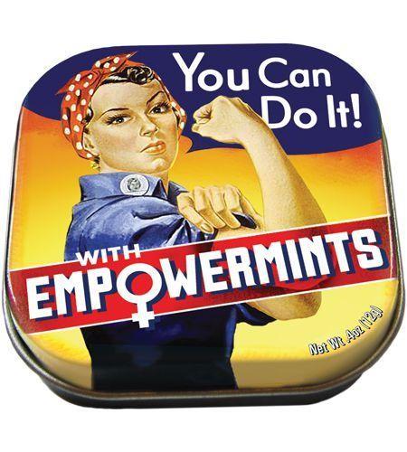 Caja con pastillas de menta Empowermints