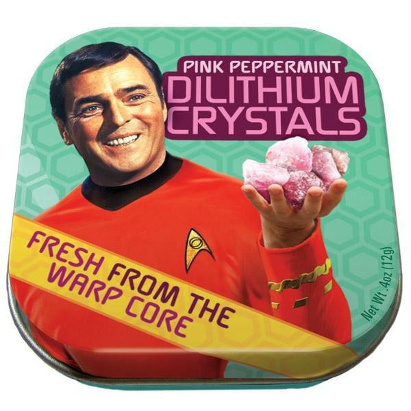 Caja con pastillas de menta Dilithium Crystal Mint - Star Trek