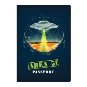 Cuaderno Area 51 Passport Notebook