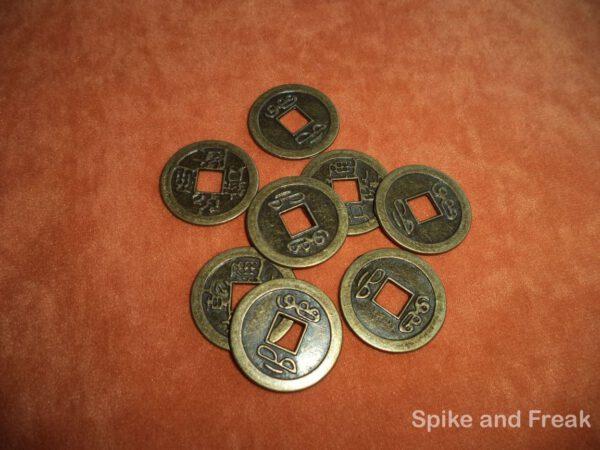 Set de Monedas Chinas Grandes