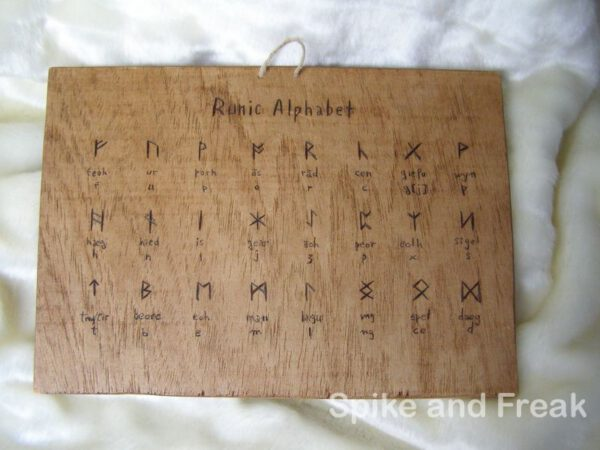 tabla Runic Alphabet
