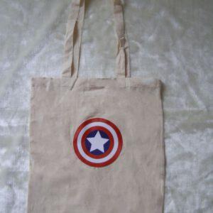 Capitán América - Bolsa de Algodón