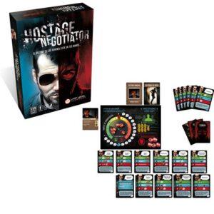Hostage El Negociador caja y contenidos