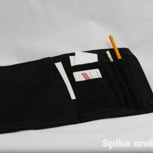 bolsa multiusos negra abierta