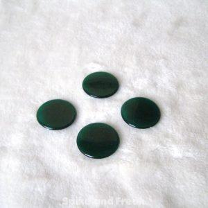 fichas verdes transparentes