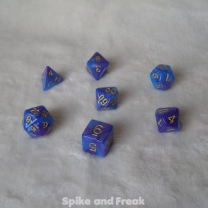 Blue Pearl Set Dice
