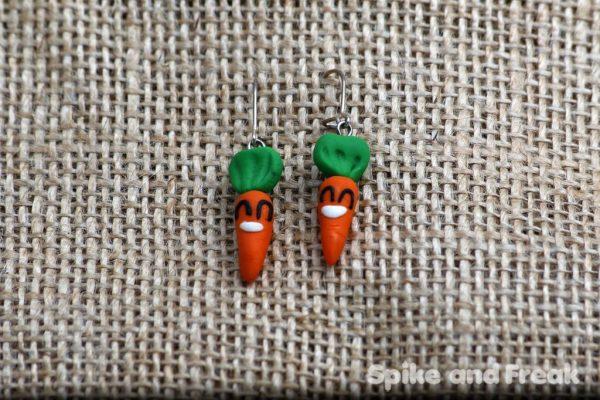pendientes zanahoria