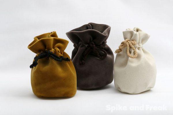 3 sacos pequeños