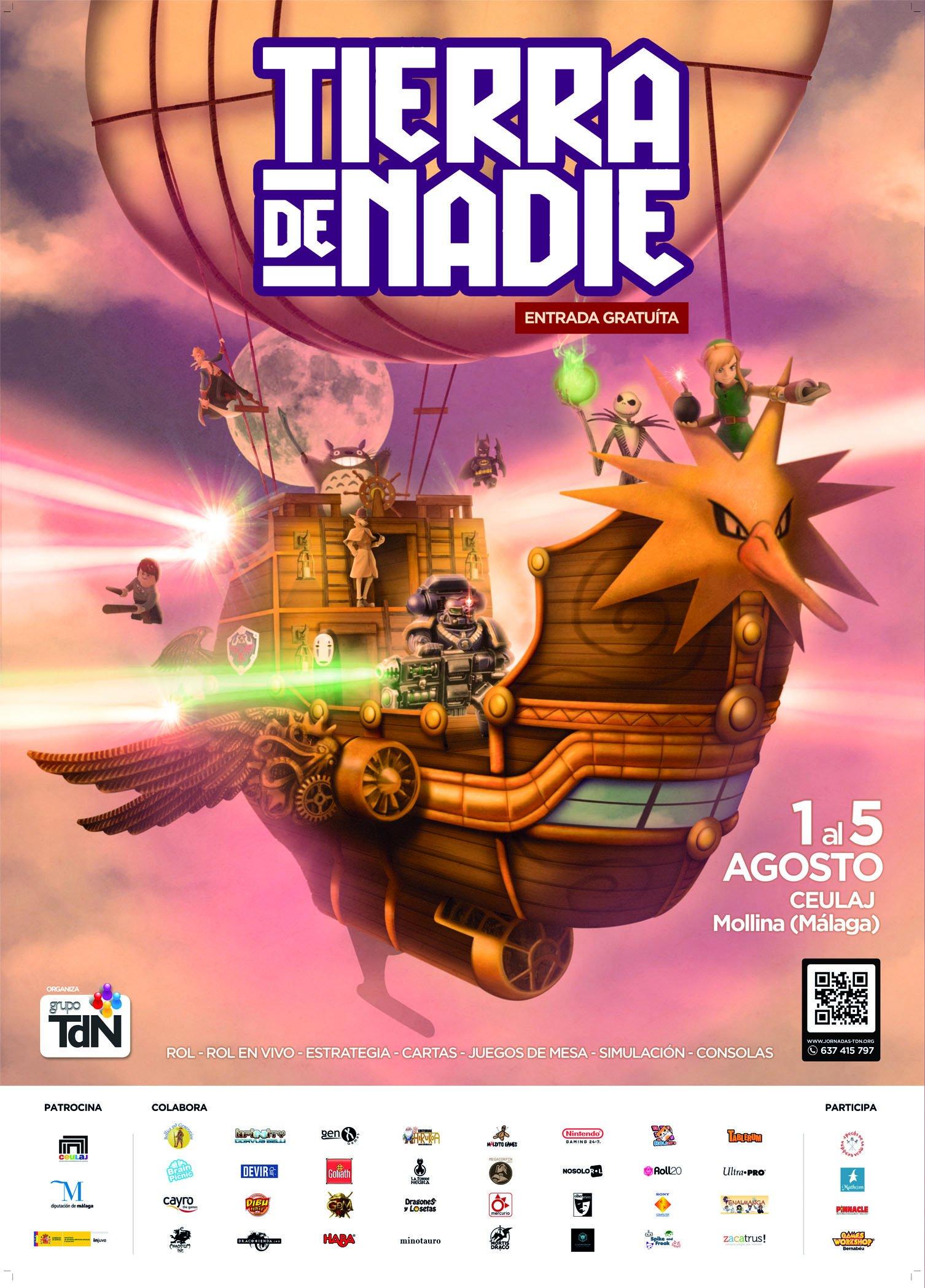 cartel Tierra de Nadie 2019 (TDN)