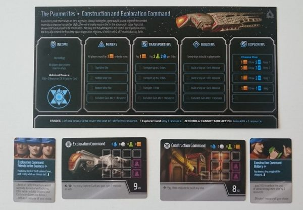 Exodus Fleet cartas-cards
