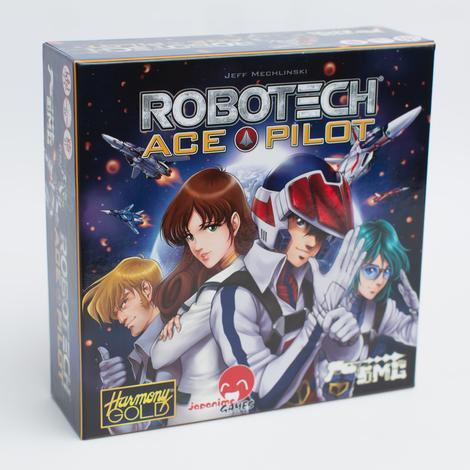 Robotech AcePilot caja-box