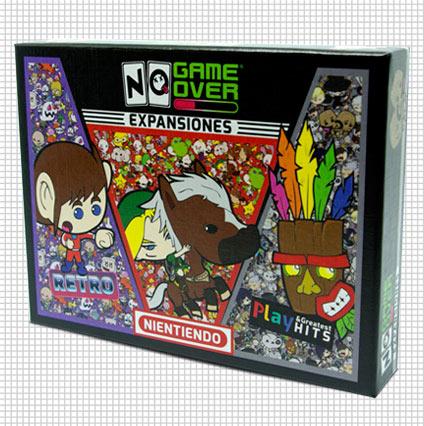 caja, parte frontal Expansión No Game Over