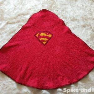 capa toalla logo superman