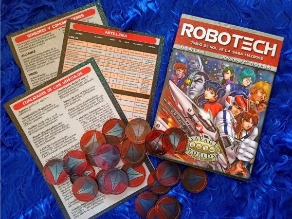 Pack Robotech