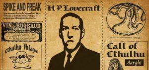 fragmento de imitación periódico antiguo noticias Lovecraft