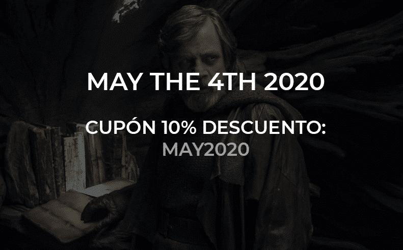 cupón descuento may the 4th