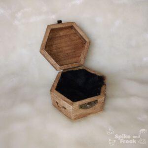 Caja steampunk abierta