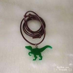 colgante dinosaurio