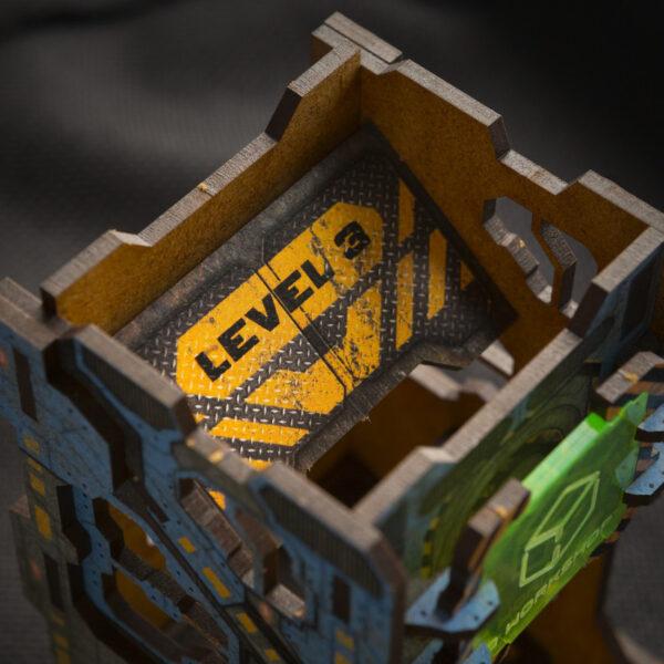 color-tech-dice detalle visto desde arriba