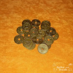 Monedas chinas 15 mm