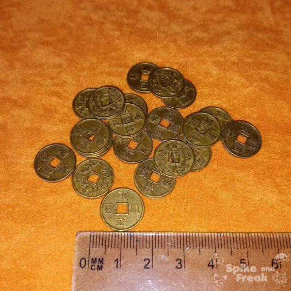 Monedas chinas 15 mm
