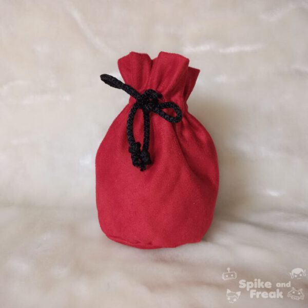 bolsa de dados grande rojo